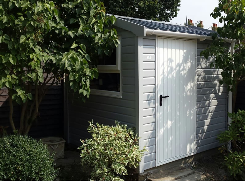 Secure Timber Shed
