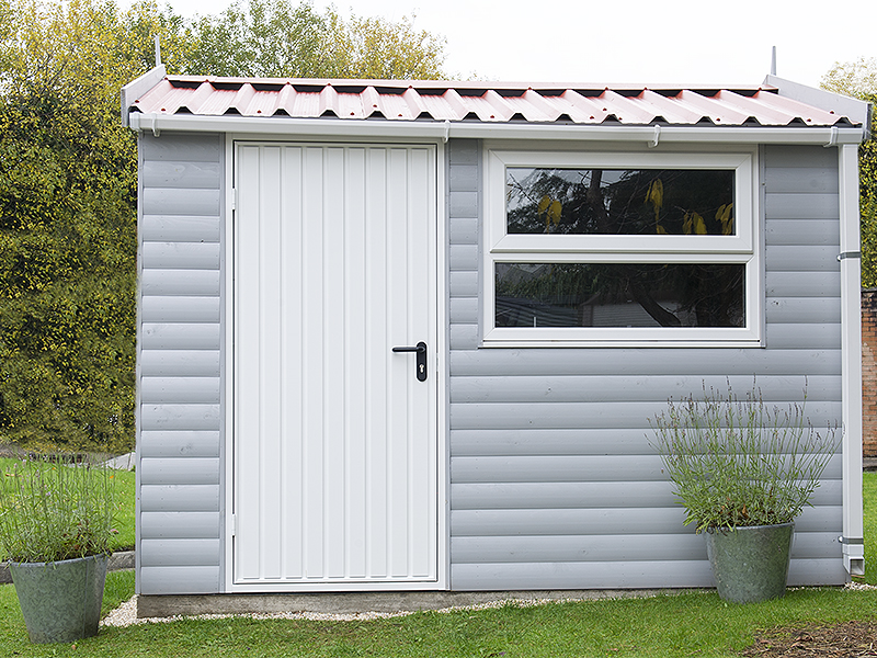 Secure Storage Shed