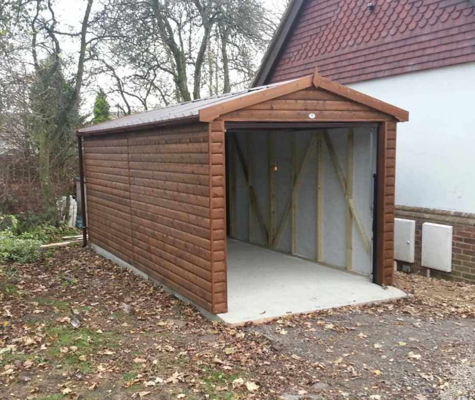 Single Timber Garage
