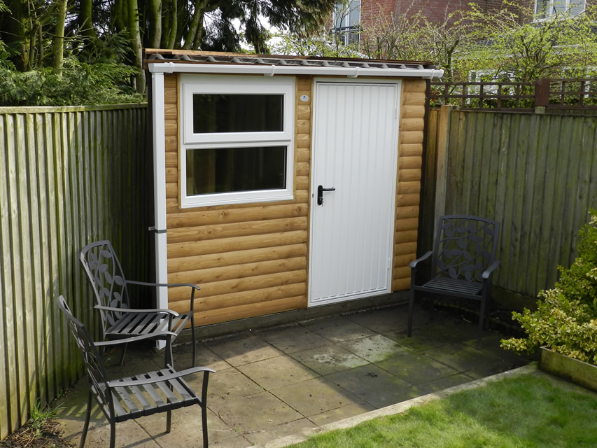 decorating garden sheds hull