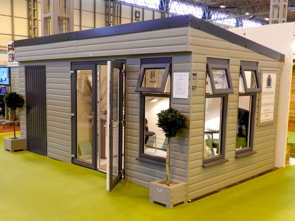Garden Rooms Home Office with Store Browns Garden Buildings