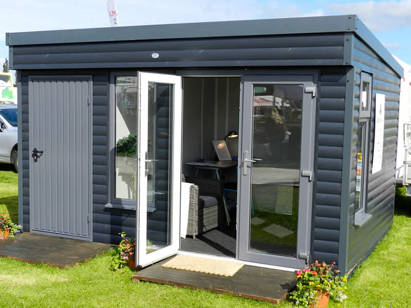Pembroke garden Room & Store in Anthracite